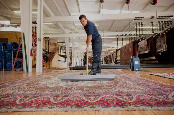 شستشوی فرش ماشینی و نگهداری